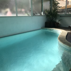 maison de ville Sète piscine