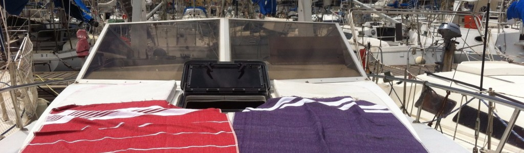 Lana bateau à quai