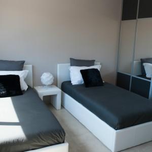 villa jacuzzi chambre 2 lits