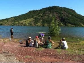 Cirque de Mourèze et lac de salagou