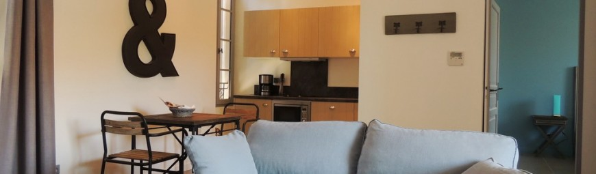 location appartement dans résidence vacances à Marseillan