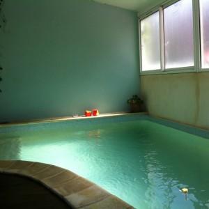 piscine angle  PB