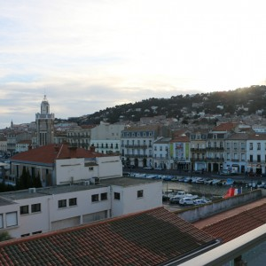 T2 ville vue balcon