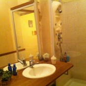 location appartement sur quai douche