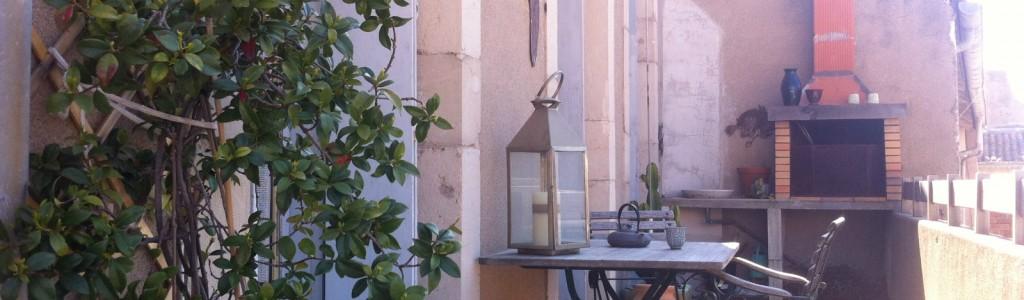 location appartement sur quai terrasse