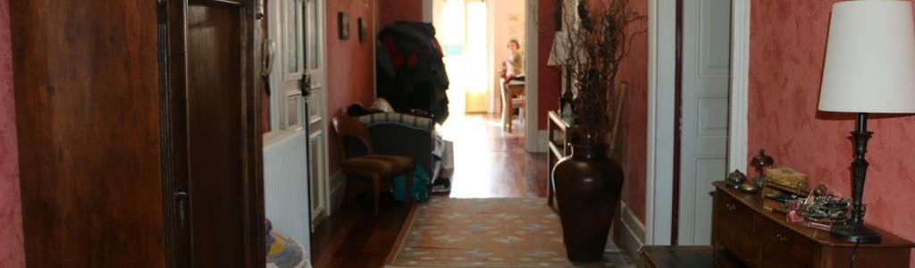 location appartement sur quai couloir