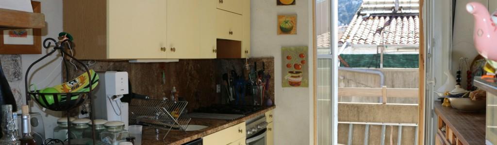 location appartement sur quai cuisine
